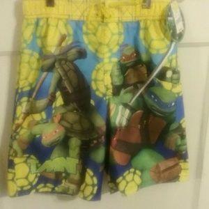 Boys Teenage Mutant Ninja Turtles TMNT Swim Bermuda Shorts Sizes from 3 to 10 Years